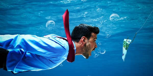 How to grow loans when you are a small fish living in a big pond